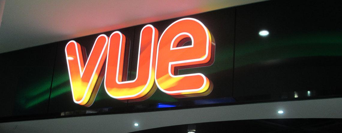 Vue Cinema The Rock Bury Shopping Centre