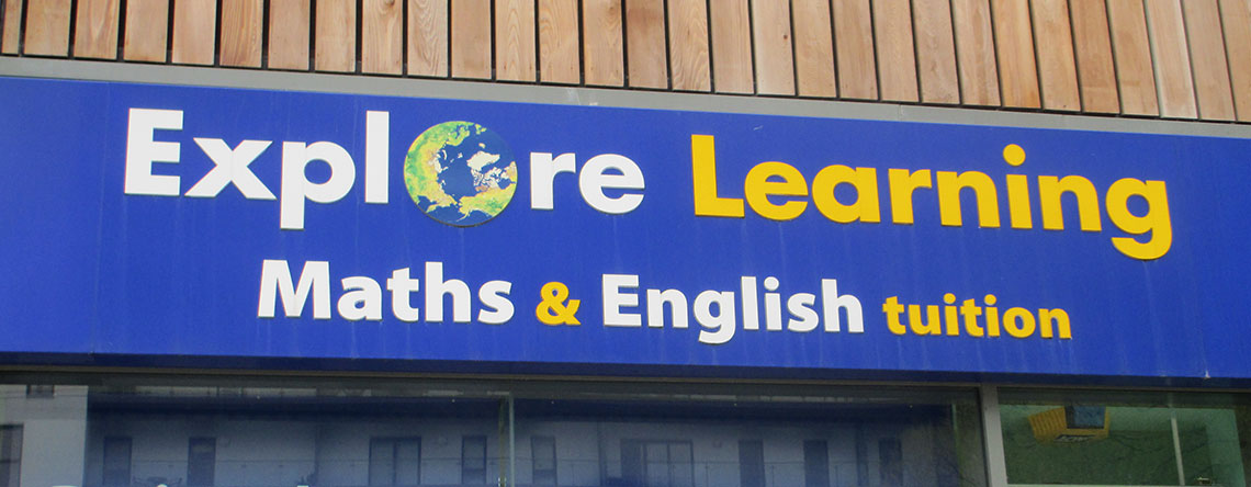 Explore Learning   The Rock Bury Shopping Centre