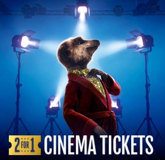 MEERKAT MOVIES 2 for 1 at Vue Cinema