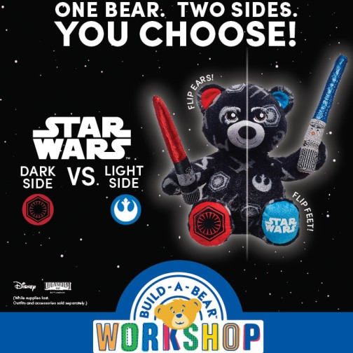 Star Wars comes to Build A Bear