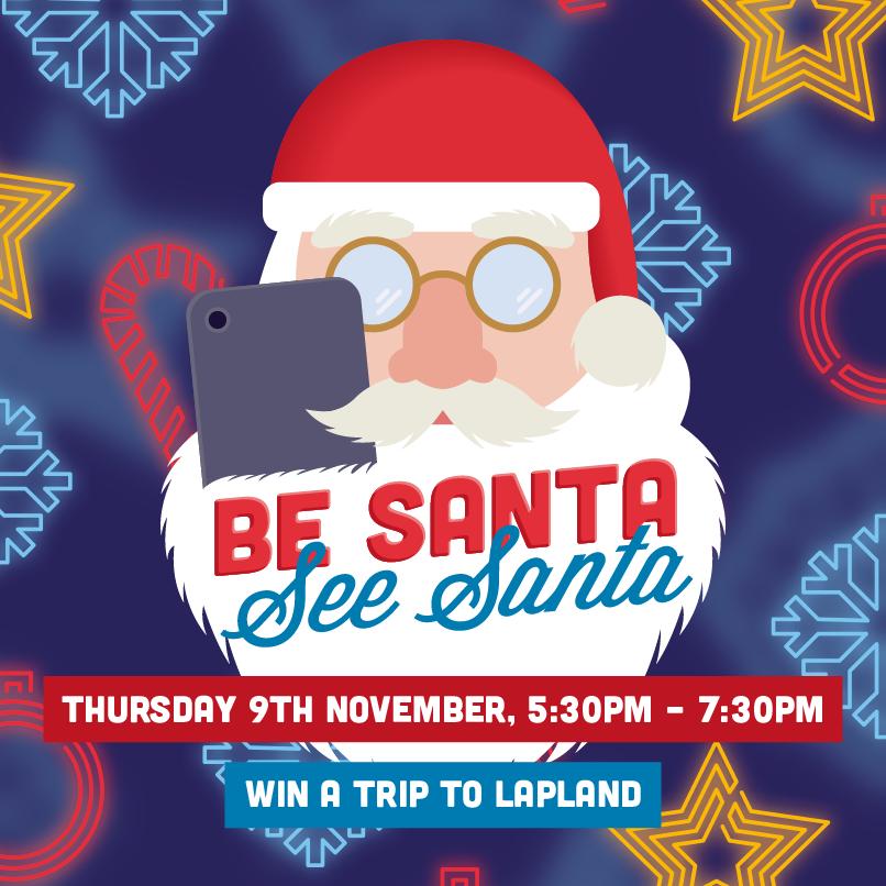 'Be Santa, See Santa' Christmas Lights Switch On 2017