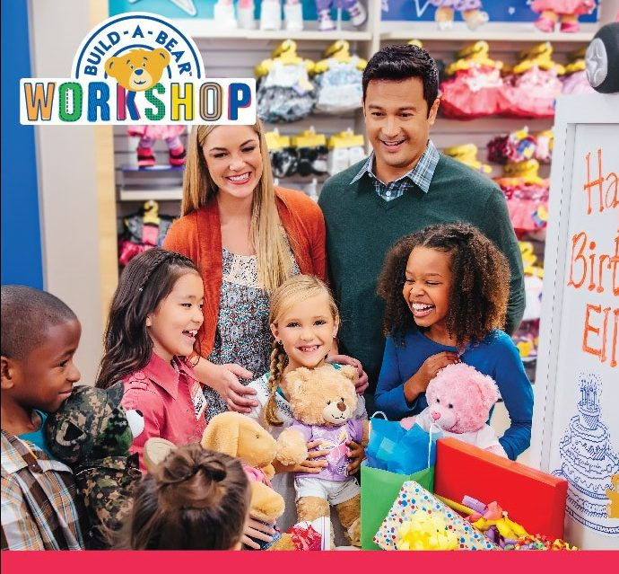 Plan your next party at Build-A-Bear