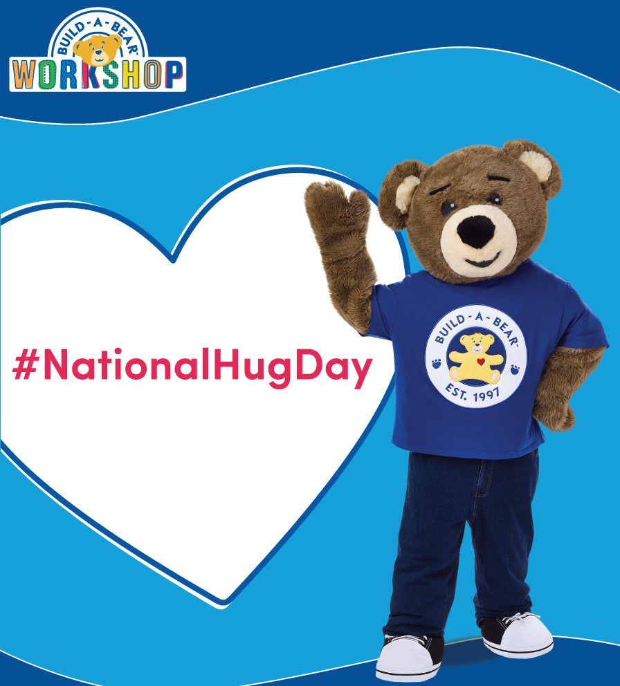 National Hug Day at Build-A-Bear Workshop