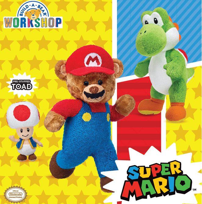 Super Mario launches at Build-A-Bear