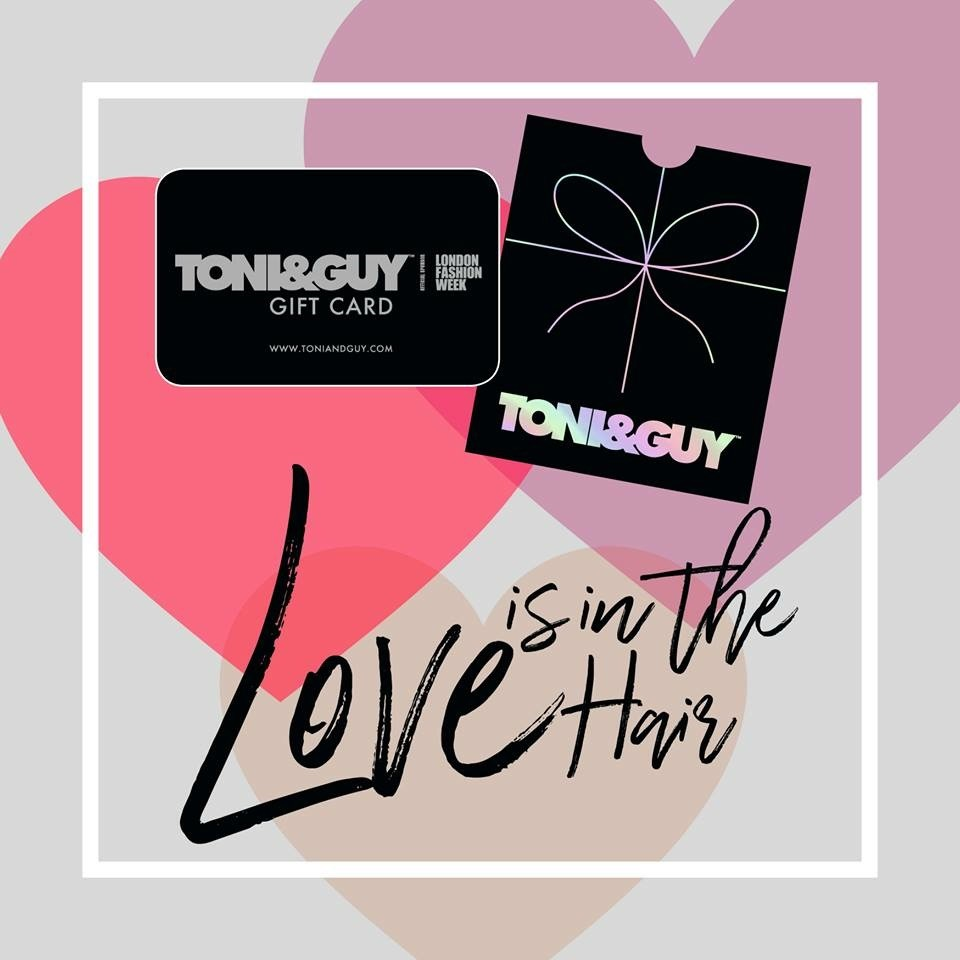 Gift cards now available at Toni & Guy