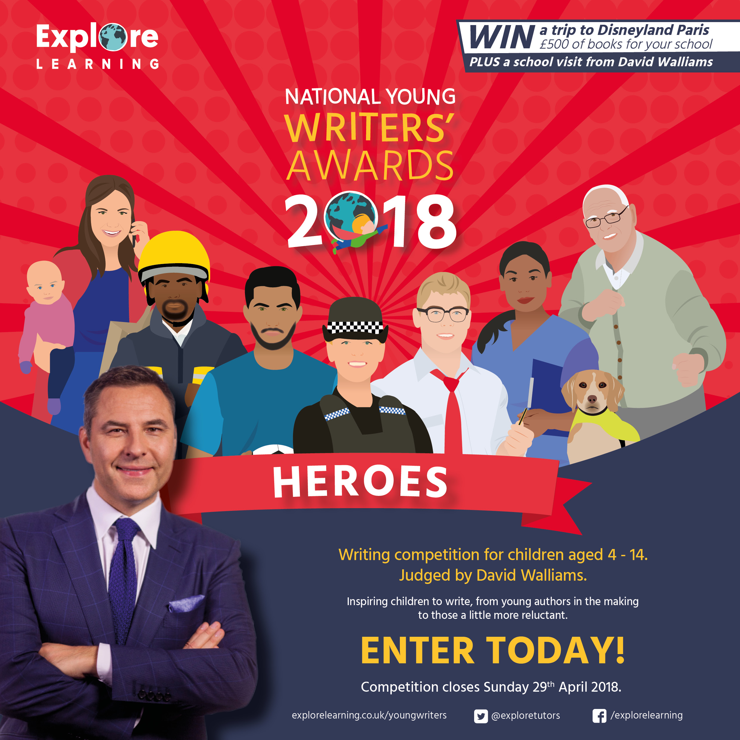 Explore Learning – National Young Writers Competition