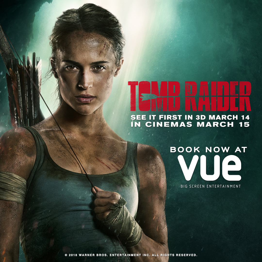 Tomb Raider tickets now on sale