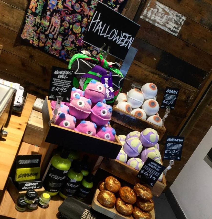 'Trick and Treat' yourself at Lush