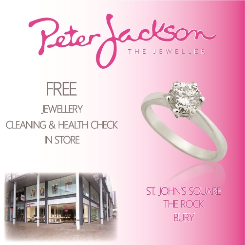 Peter Jackson FREE jewellery clean