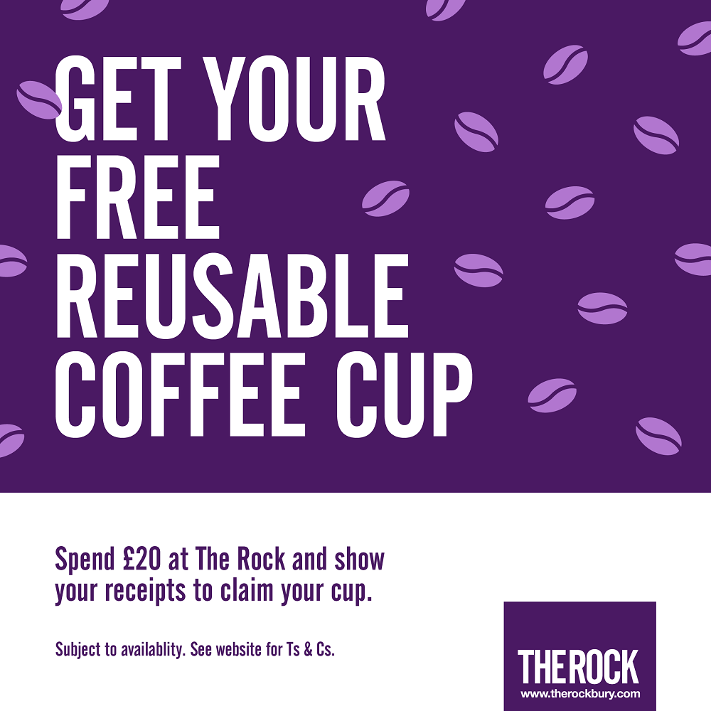 Claim your FREE reusable coffee cup