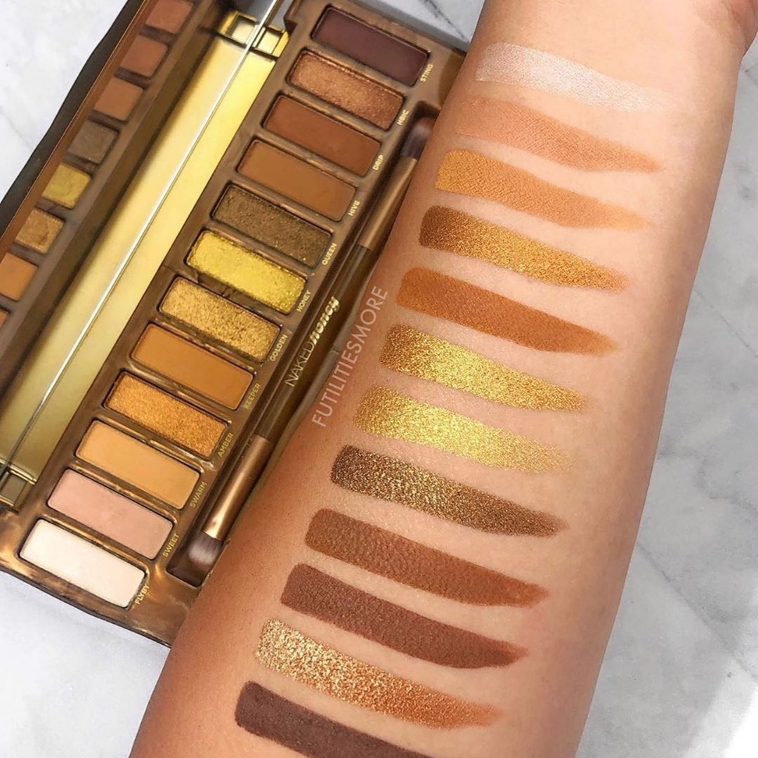 New NAKED Honey Palette at Urban Decay