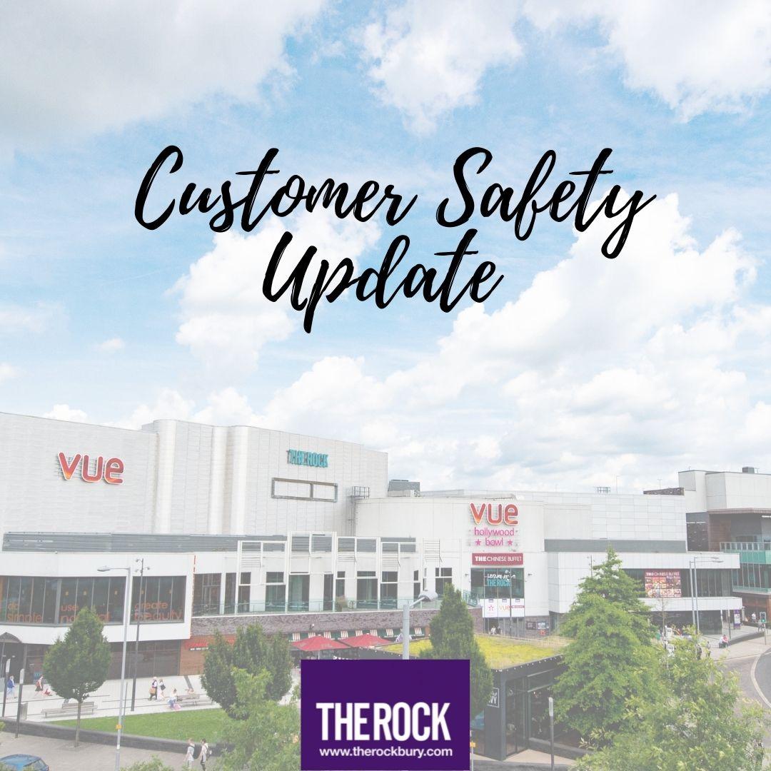 Customer safety – August 2021 update